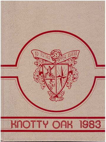 1983 Coventry Rhode Island RI High School Yearbook Knotty Oak, Senior Class