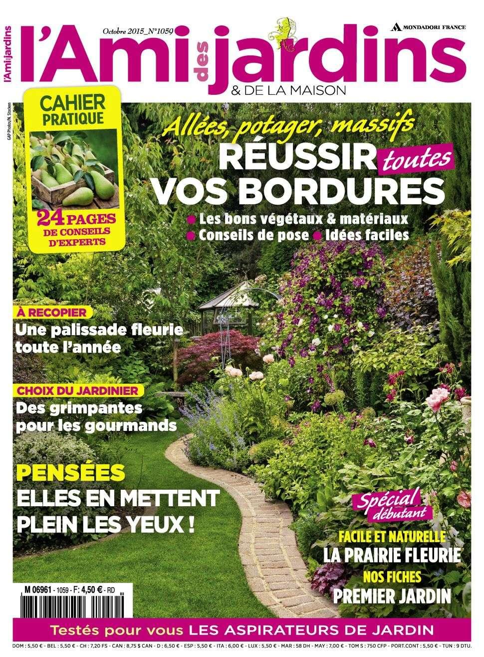 L'Ami des Jardins 1059 - Octobre 2015