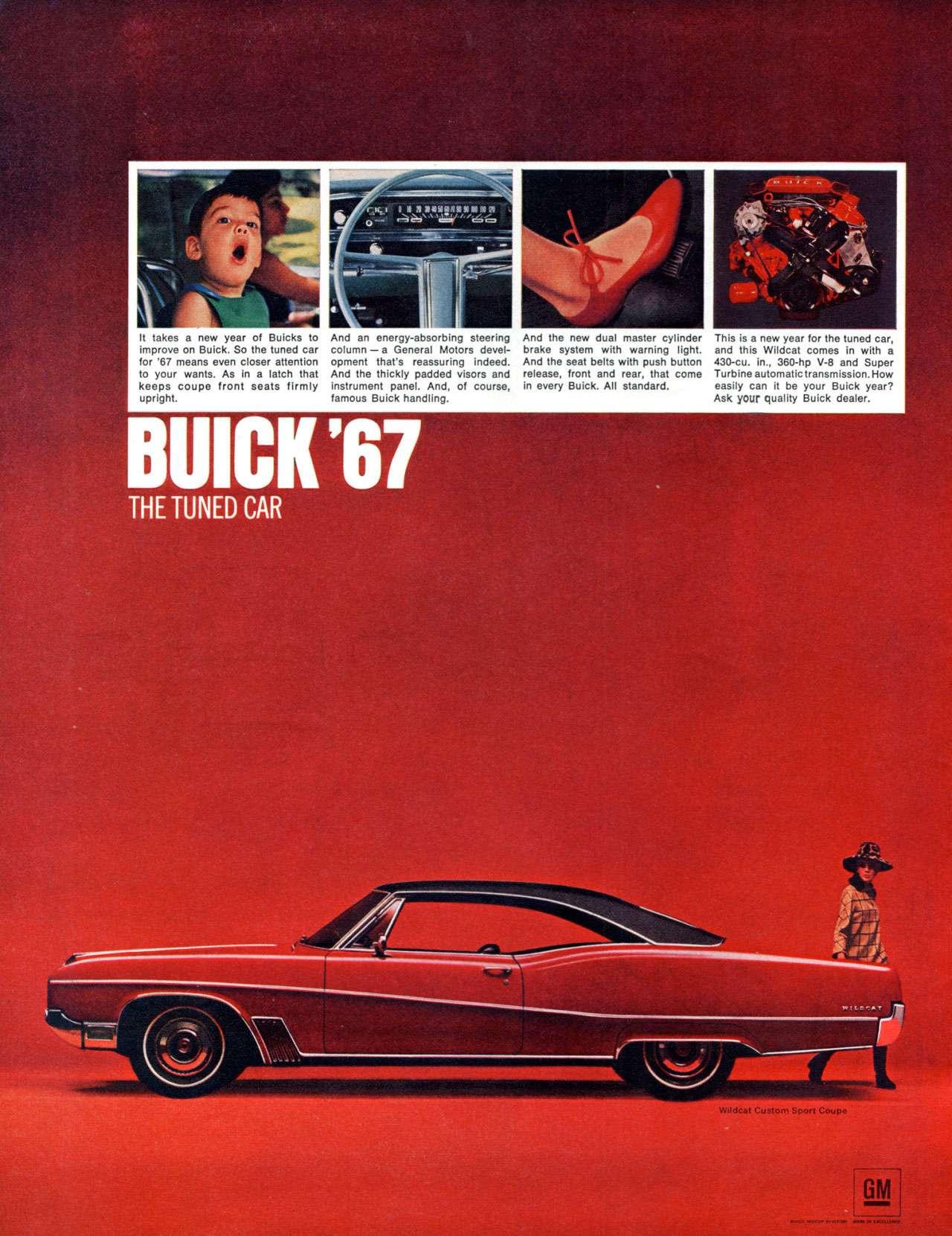 The 1967 Buick Wildcat Custom Sport Coupé. The tuned car.
