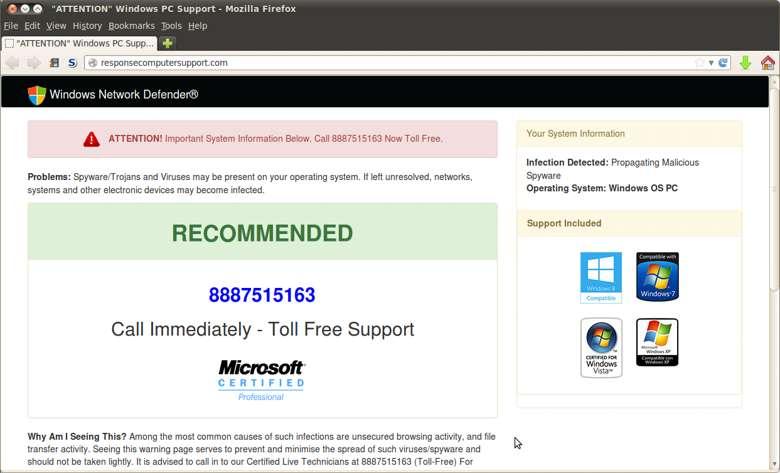 Remove ResponseComputerSupport.com
