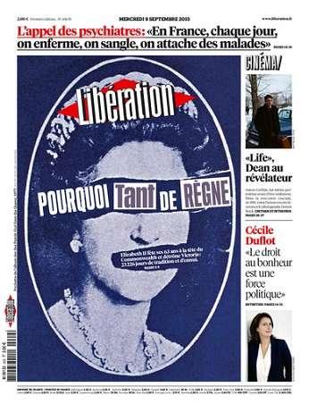 Liberation Du Mercredi 9 Septembre 2015