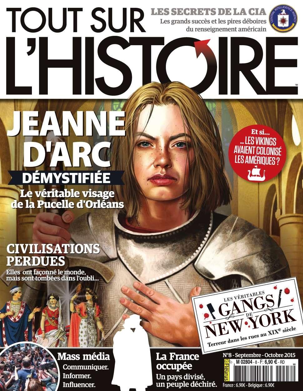 Tout sur l'Histoire 8 - Septembre-Octobre 2015
