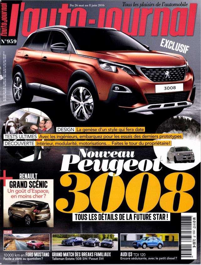 L'Auto-Journal 959 - 26 Mai au 8 Juin 2016