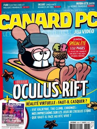 Canard PC 343 - 15 Juillet 2016