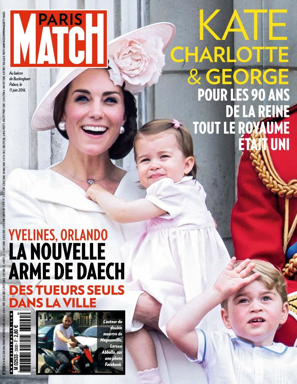 Paris Match 3500 - 15 au 21 Juin 2016