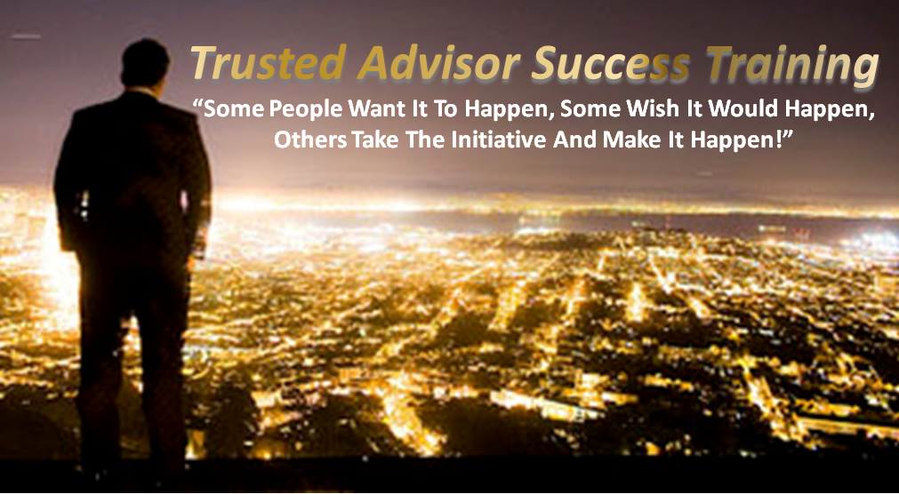 Become the Certified Trusted Advisor (CTA) people will beg to see.