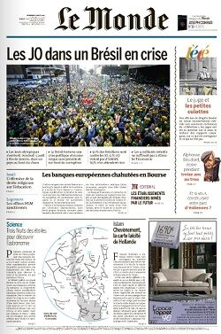 Le Monde du Vendredi 5 Août 2016
