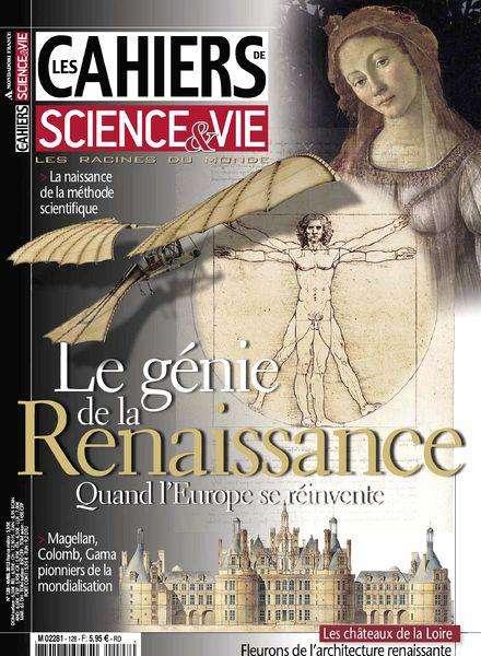 Les Cahiers de Science & Vie 128