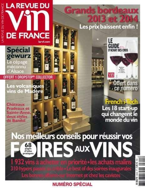La Revue du Vin de France - Septembre 2016