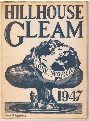 1947 Hillhouse Gleam New Haven High School Annual Publication/Yearbook, Staff