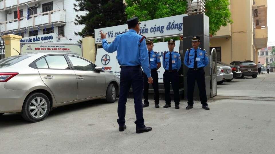 Triển khai bảo vệ Bắc Giang
