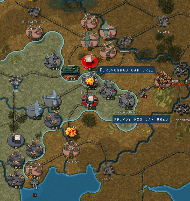 Barbarossa aar uman is not occupied and if a soviet unit moves into the town it does not hurt me there are quite a few german units gumiabroncs Gallery