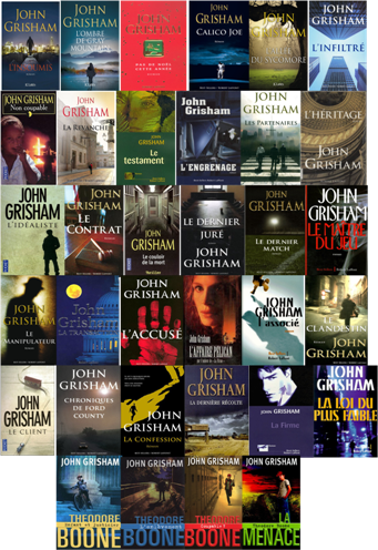 John Grisham - 34 Ebooks