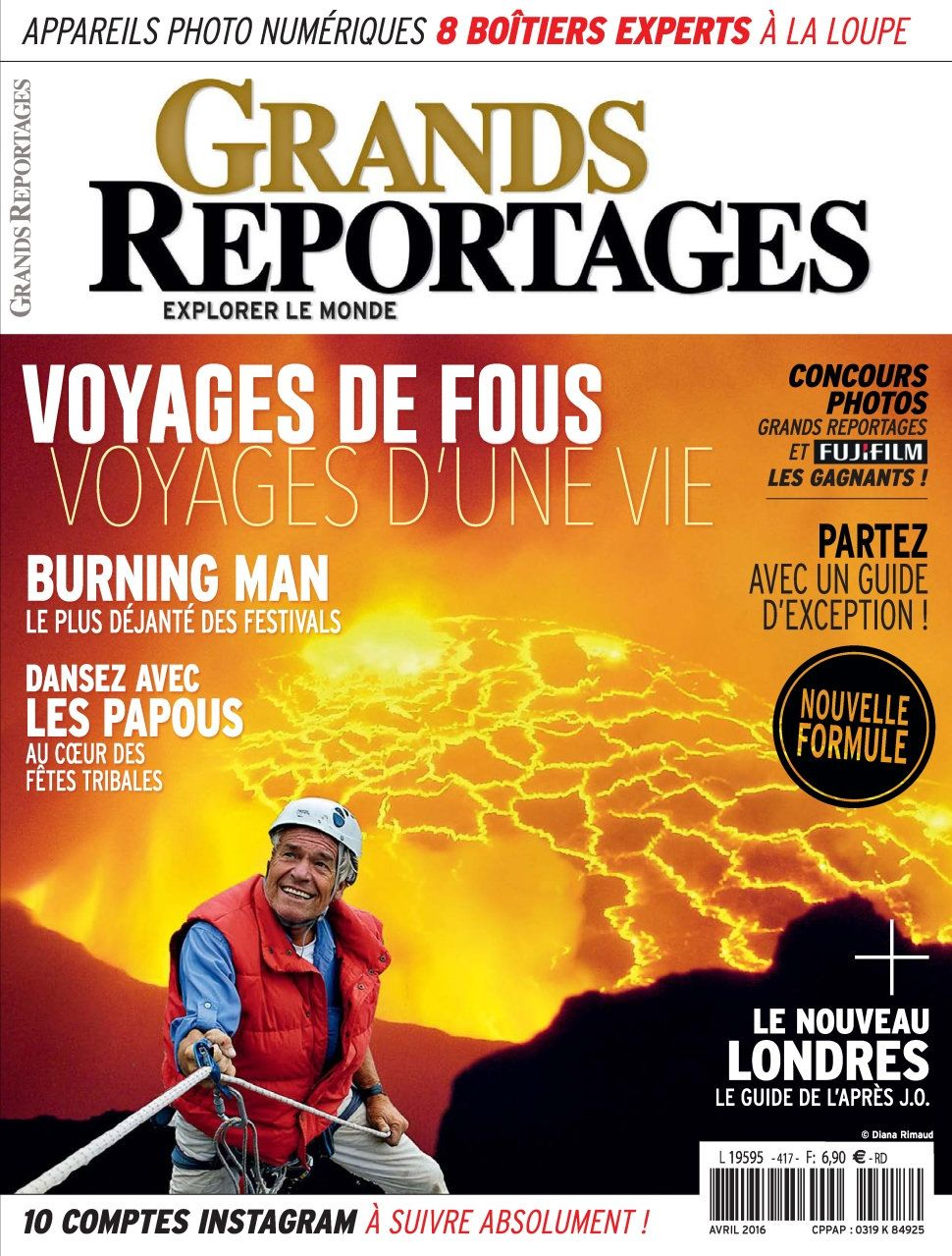 Grands Reportages 417 - Avril 2016