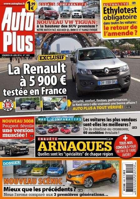 Auto Plus - 24 au 30 Juin 2016