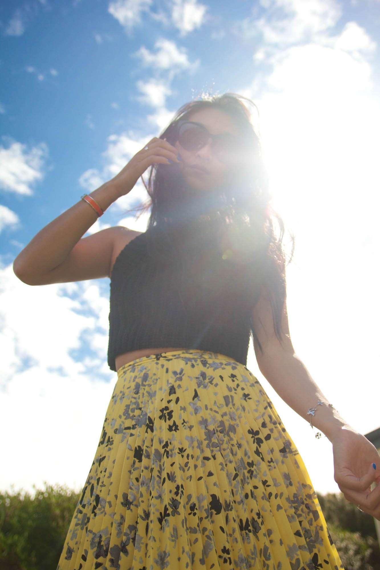 Karen Walker Pleated Skirt