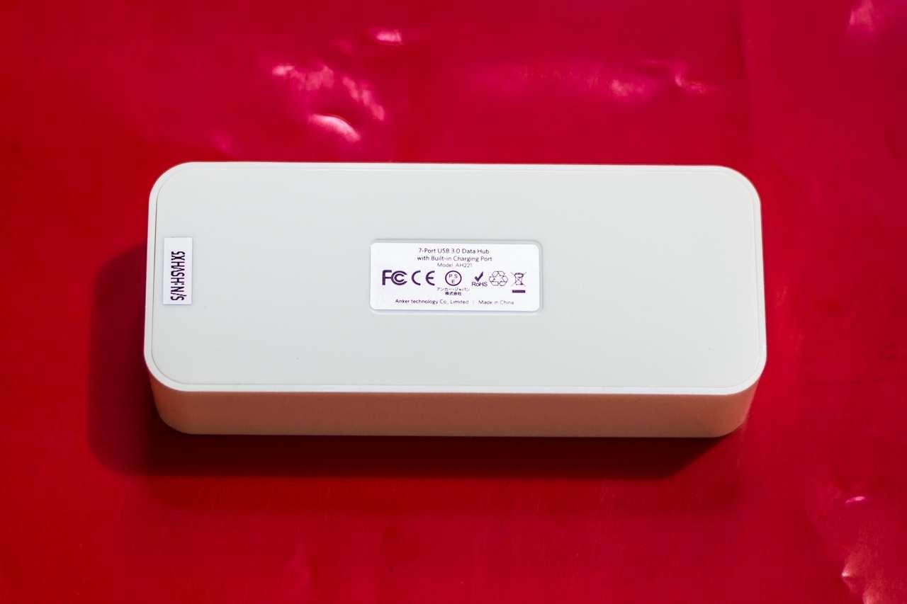Anker USB 3.0 Hub 7*USB 3.0 Ports: Hub USB 7 cổng kèm khả năng sạc với công suất 60W cho 7 thiết bị - 164563