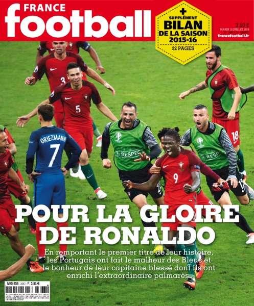 France Football 3663 - 12 Juillet 2016