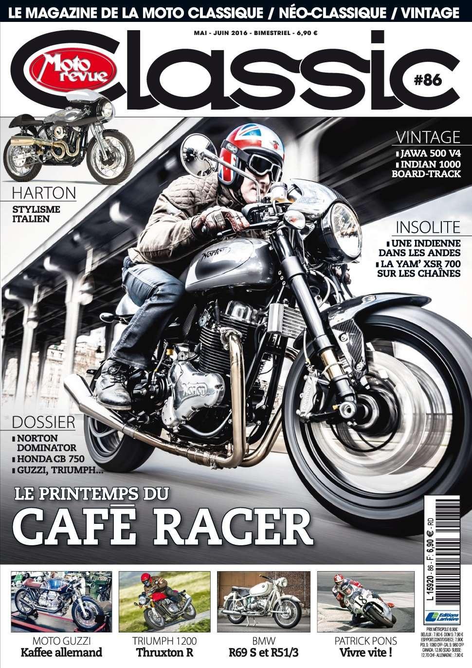 Moto Revue Classic 86 - Mai/Juin 2016