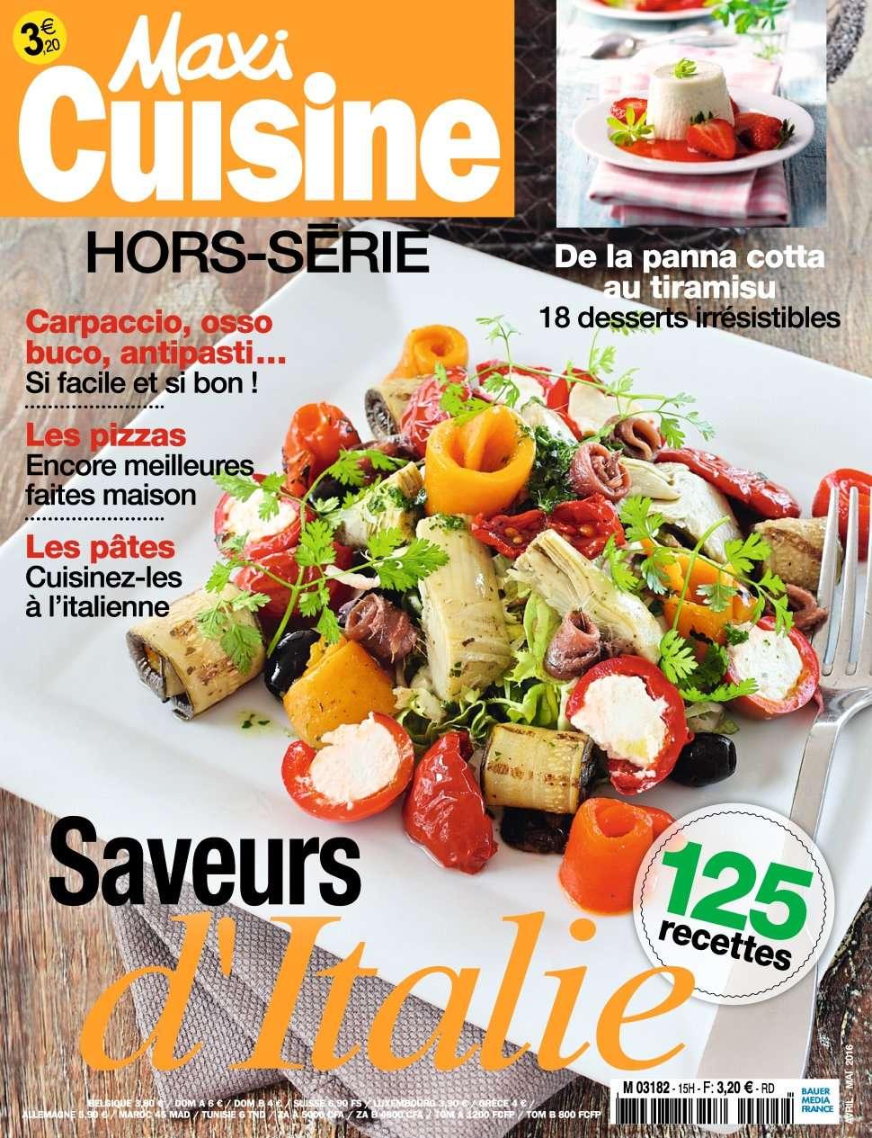 Maxi Cuisine Hors Série 15 - Avril/Mai 2016