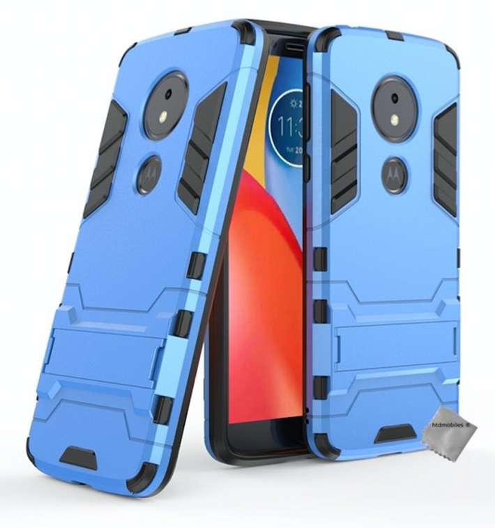 Housse-etui-coque-rigide-anti-choc-pour-Motorola-Moto-G6-Play-verre-trempe