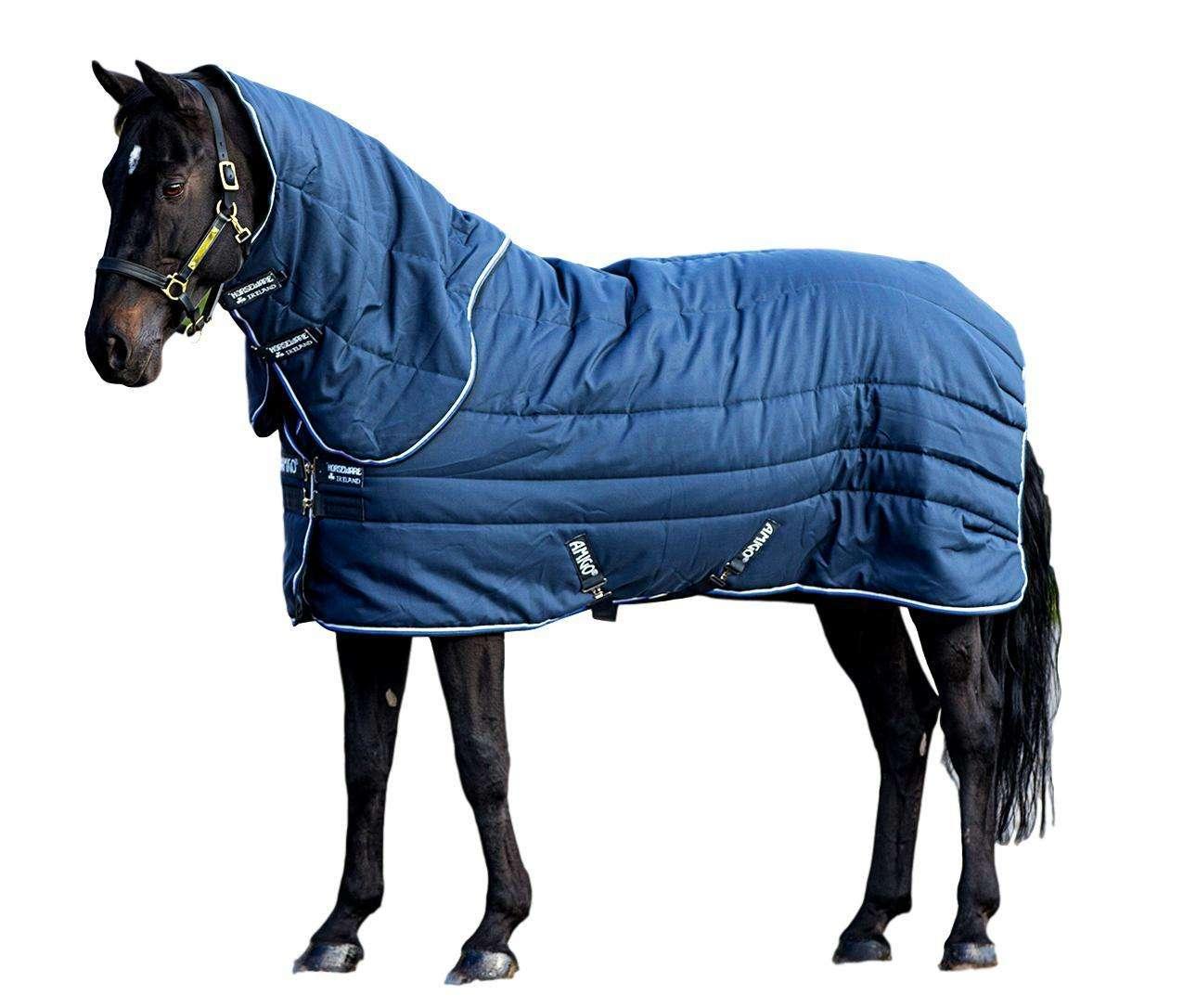 Horseware Amigo stable Vari-couche plus lourd 450 G remplir avec cou capot