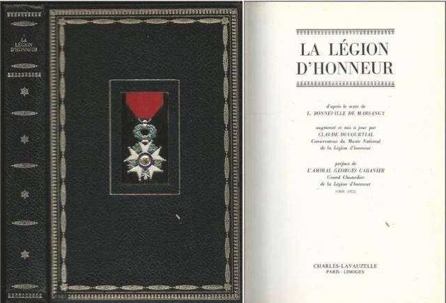 La légion d'honneur, Bonneville De Marsangy L.