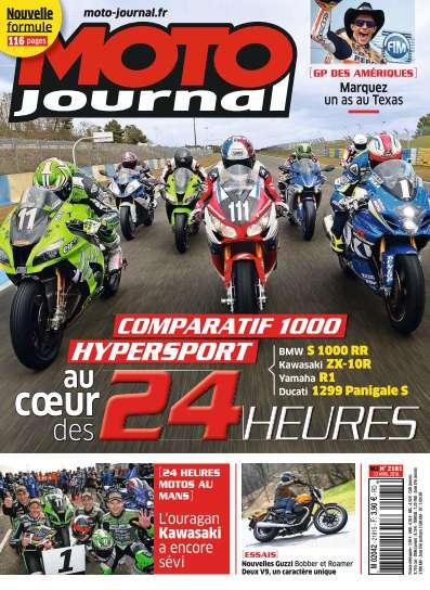 Moto Journal 2181 - 13 Avril 2016