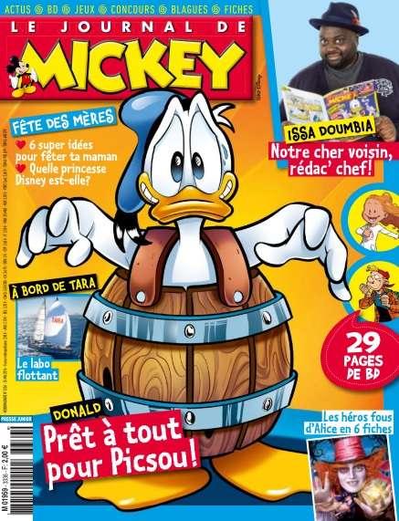 Le Journal de Mickey 3336 - 25 au 31 Mai 2016