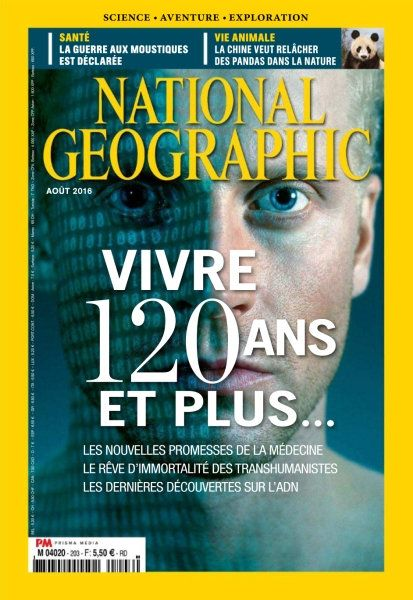 National Géographic France 203 - Août 2016