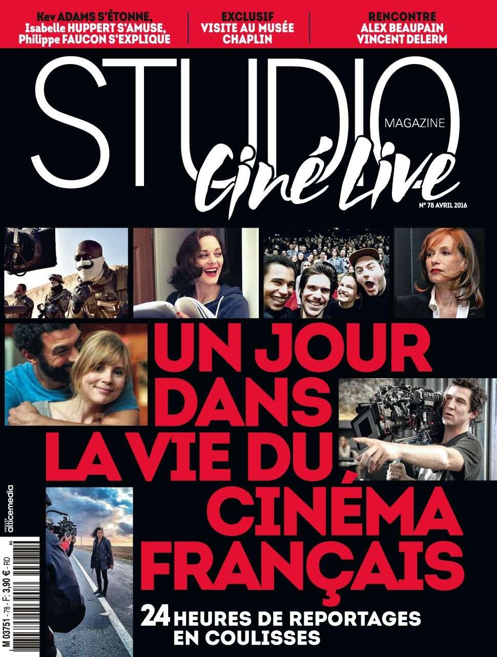 Studio Ciné Live 78 - Avril 2016