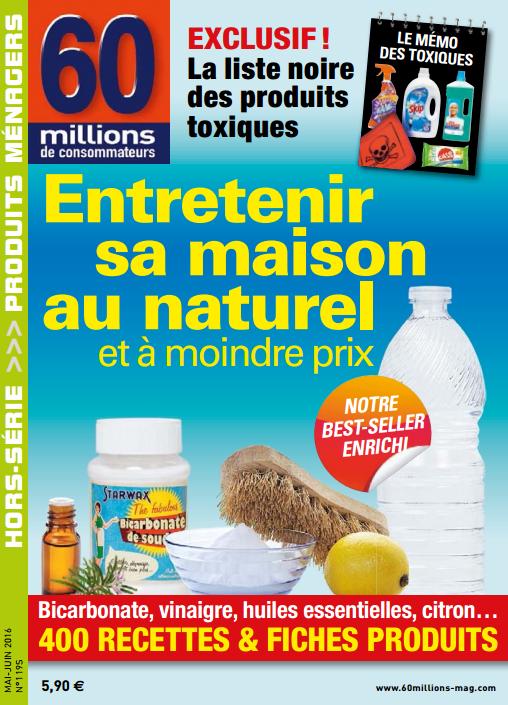 60 Millions de Consommateurs Hors-Série 1195 Mai-Juin 2016