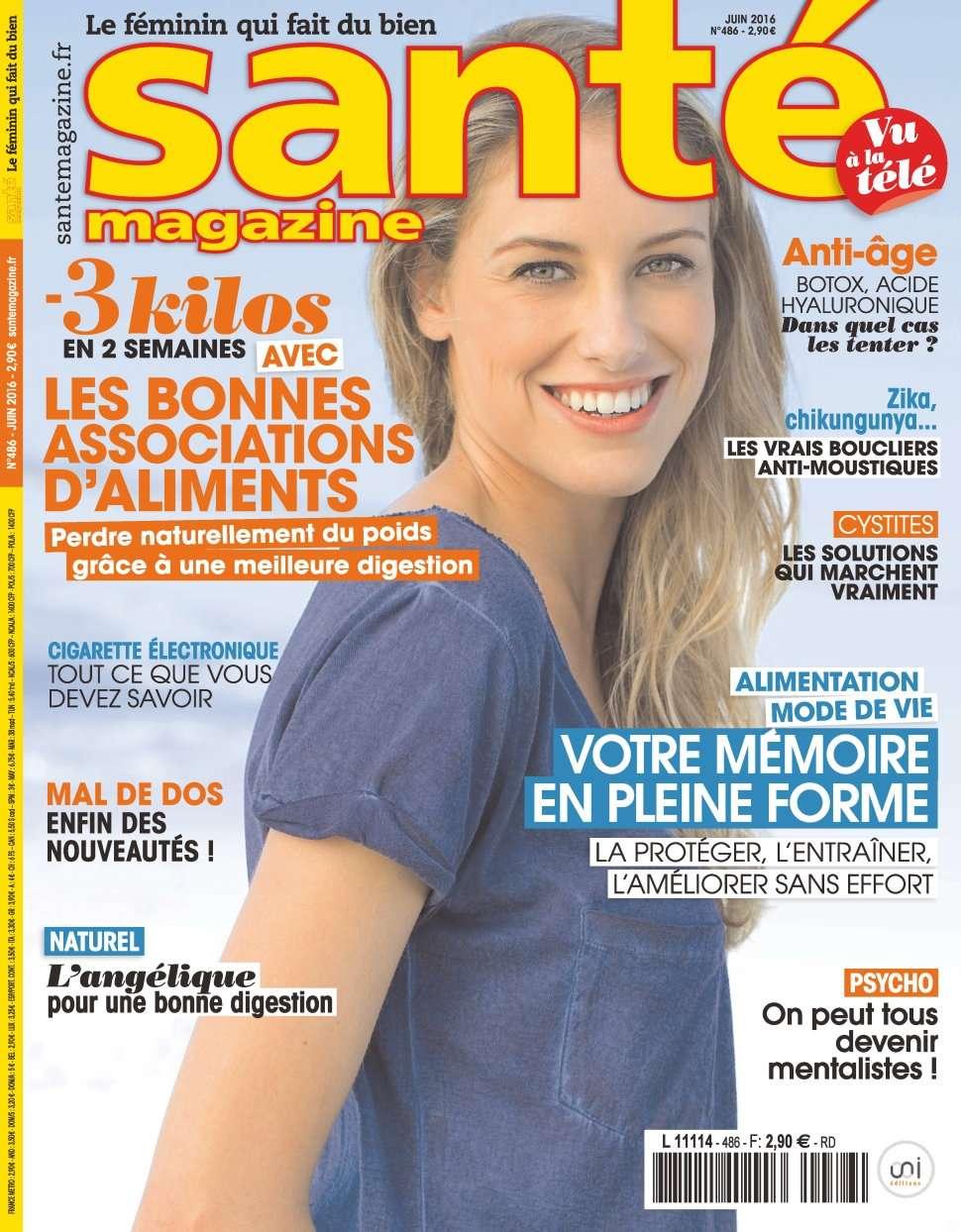 Santé Magazine 486 - Juin 2016