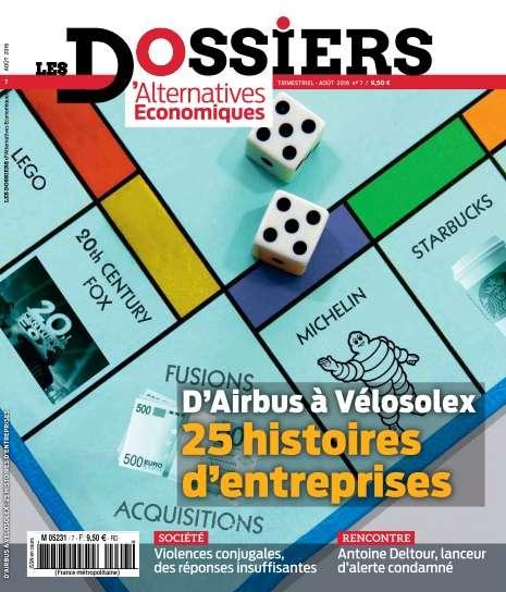 Les Dossiers d'Alternatives Economiques - Août 2016
