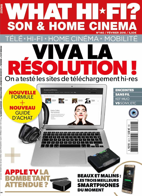 What Hi-Fi ? 140 – Février 2016