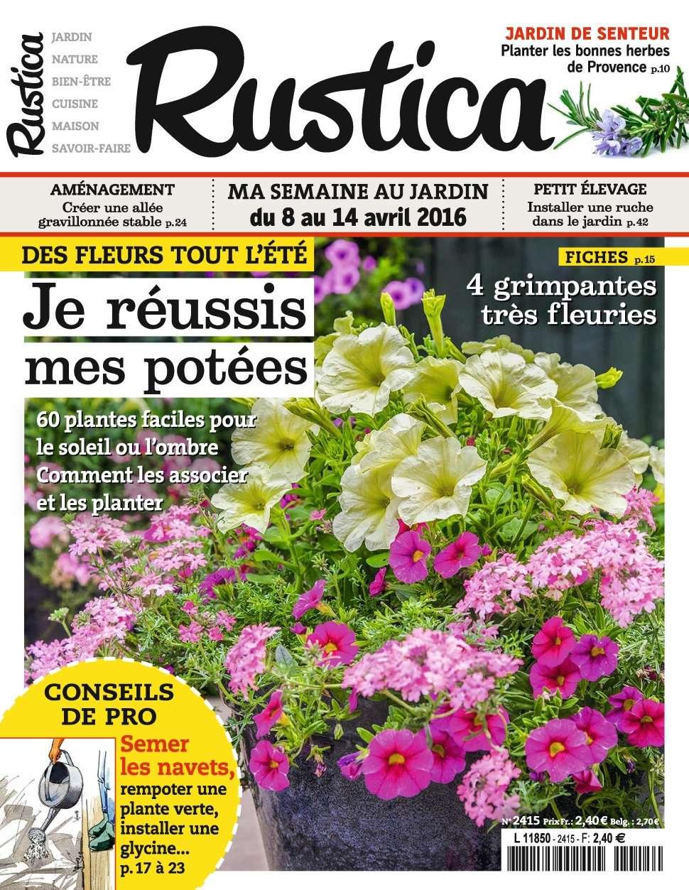 Rustica 2415 - 8 au 14 Avril 2016