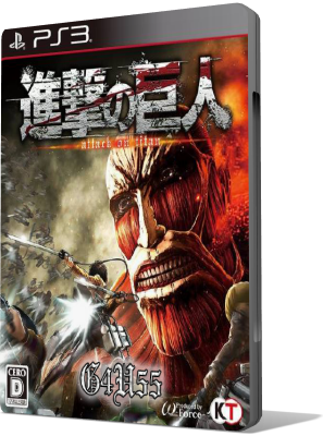 [PS3] Attack on Titan / A.O.T. Wings of Freedom (2016) - JAP SUB ENG