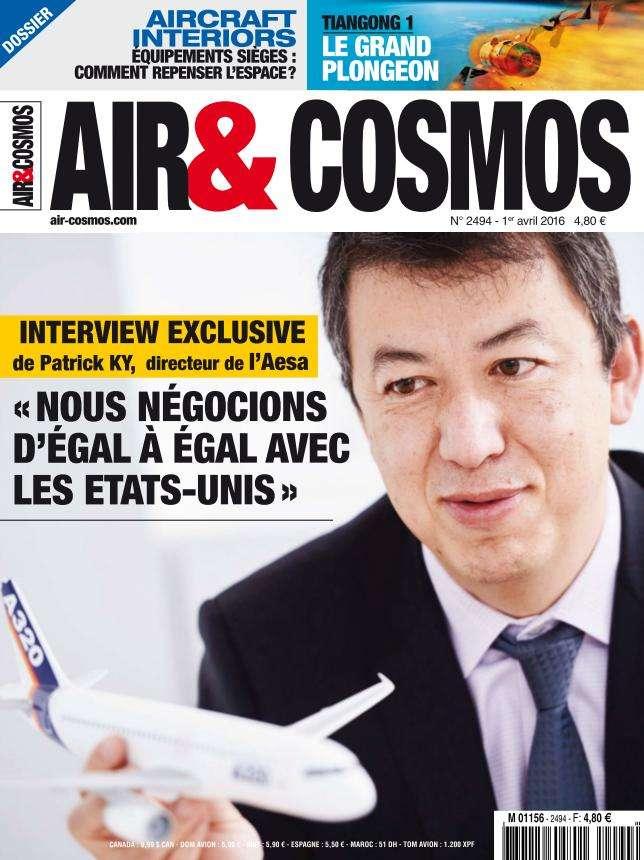 Air & Cosmos 2494 - 1 au 7 Avril 2016