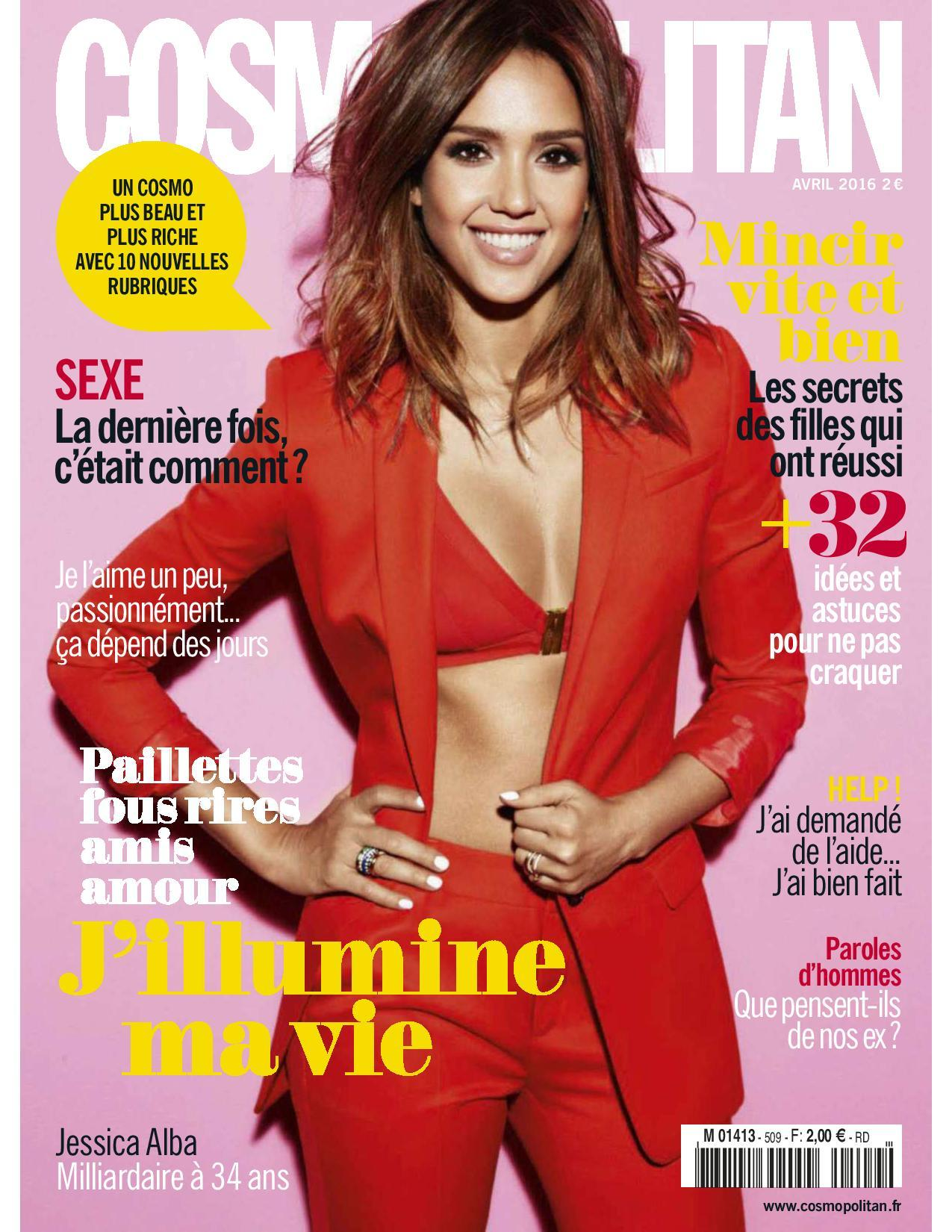Cosmopolitan - Avril 2016