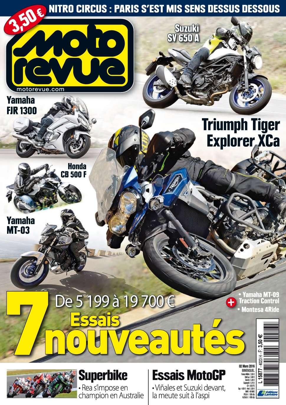 Moto Revue 4023 - 2 au 8 Mars 2016