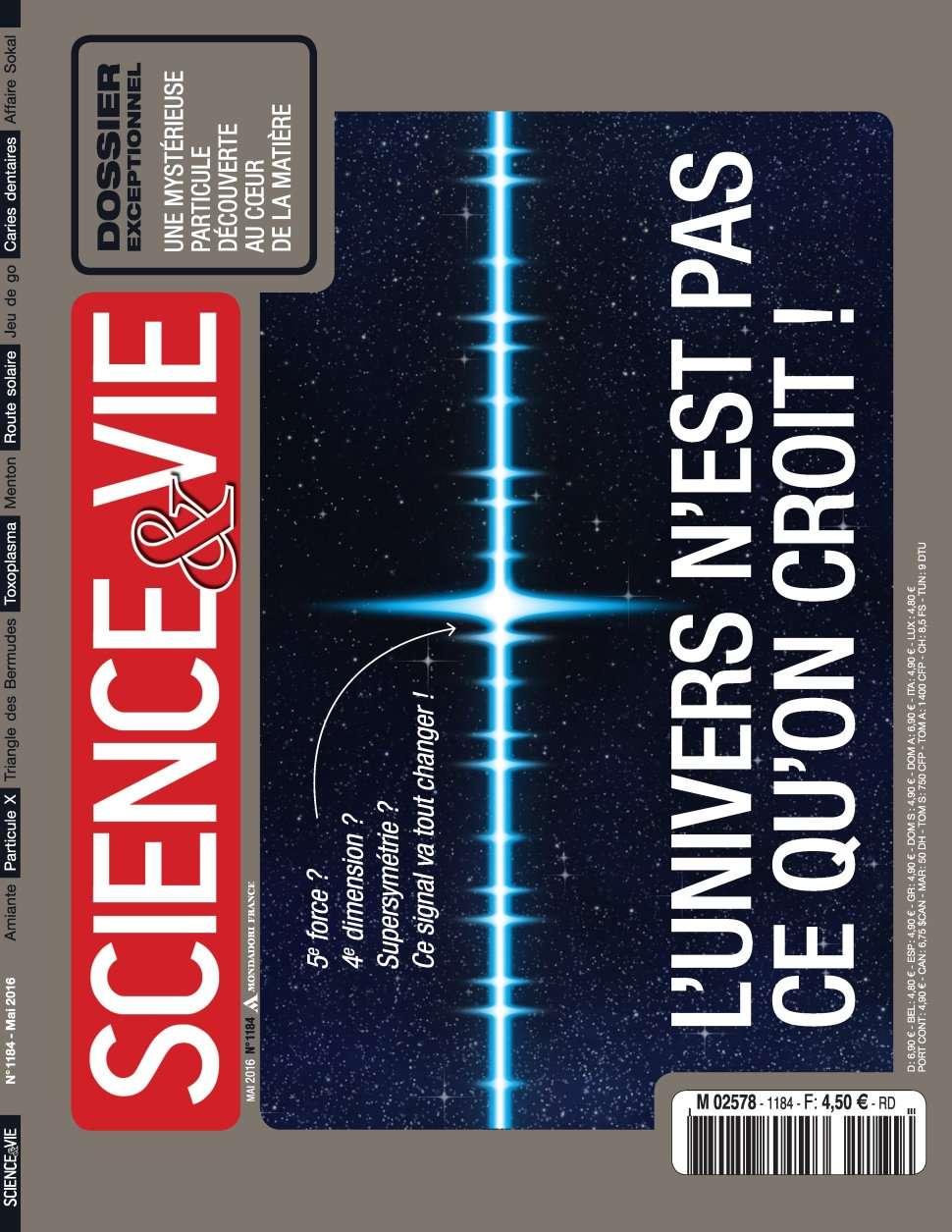 Science & Vie 1184 - Mai 2016