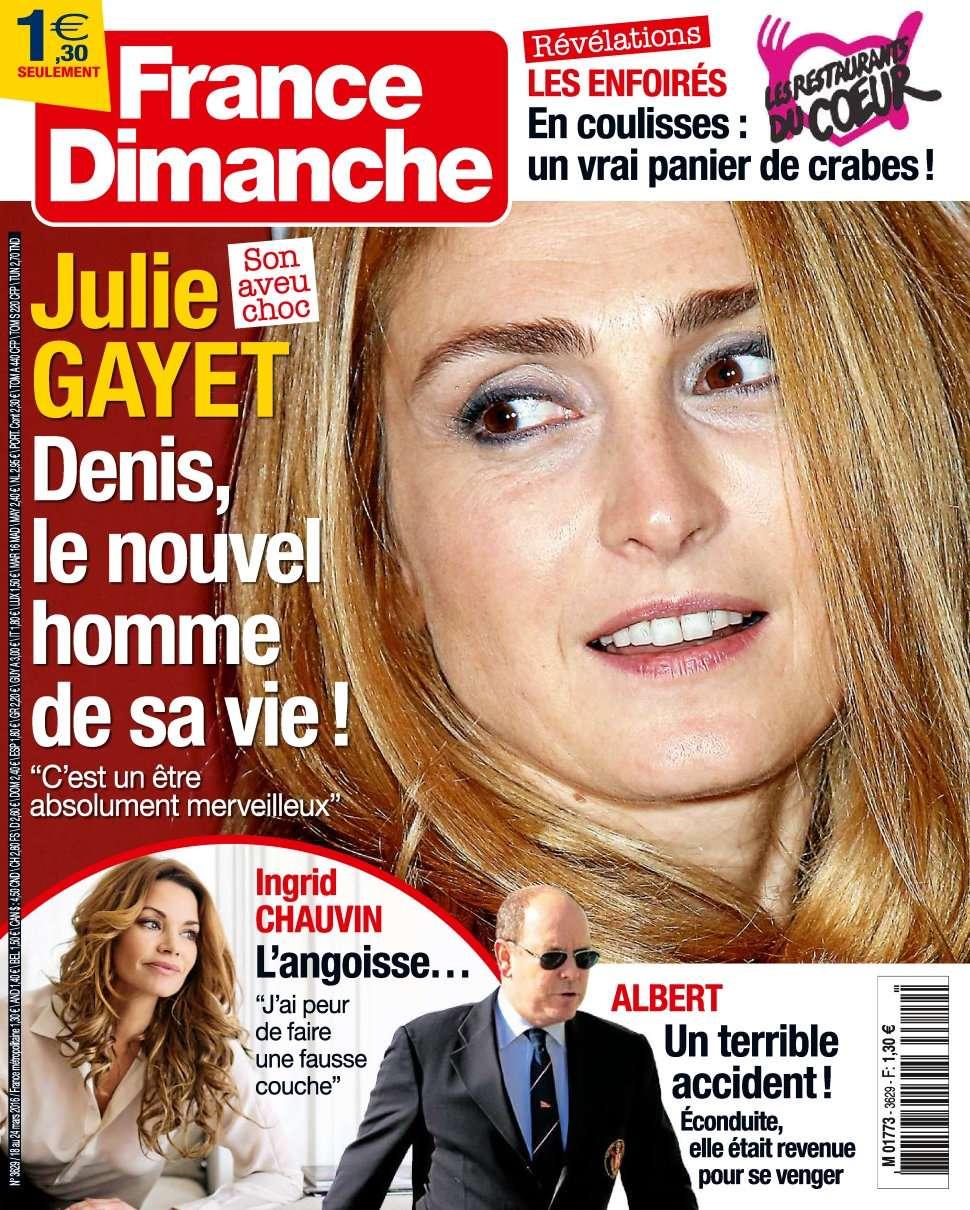 France Dimanche 3629 - 18 au 24 Mars 2016