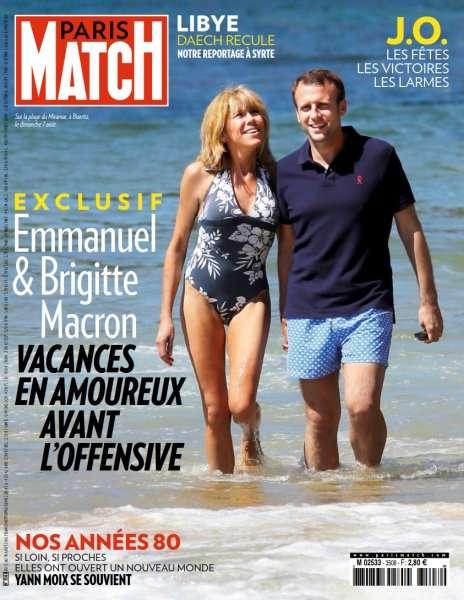 Paris Match 3508 - 11 au 18 Août 2016