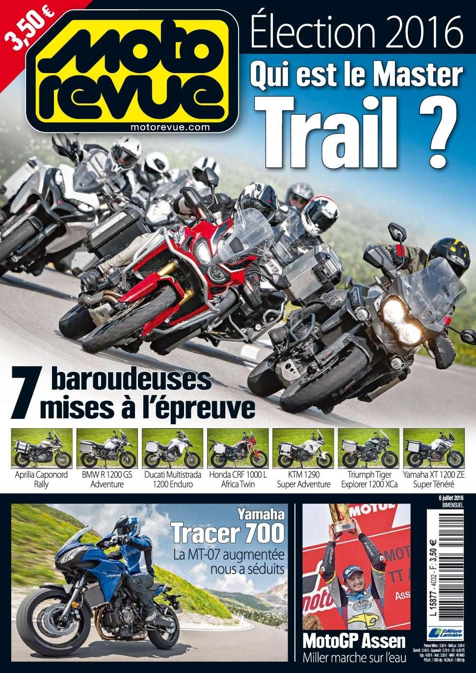 Moto Revue 4032 - 06 Juillet 2016