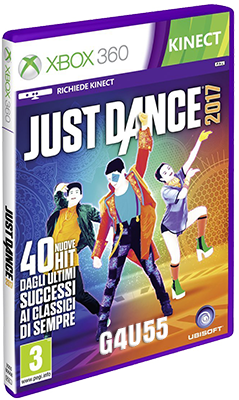 [XBOX360] Just Dance 2017 (2016) - SUB ITA