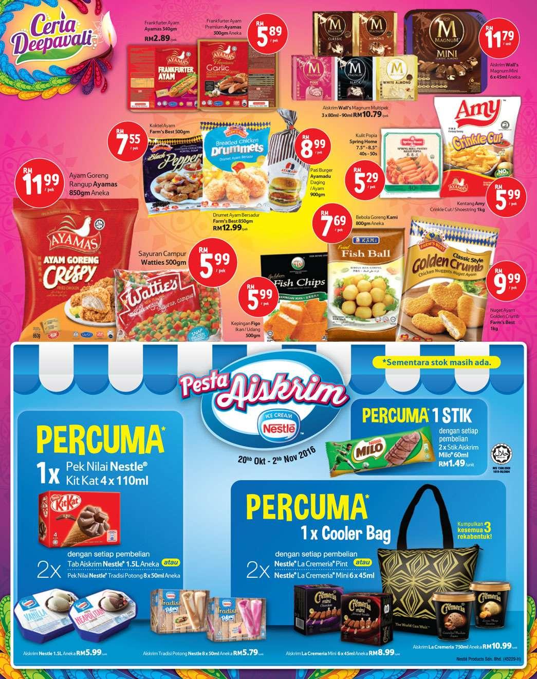 Tesco Malaysia Weekly Catalogue (20 October - 26 October)