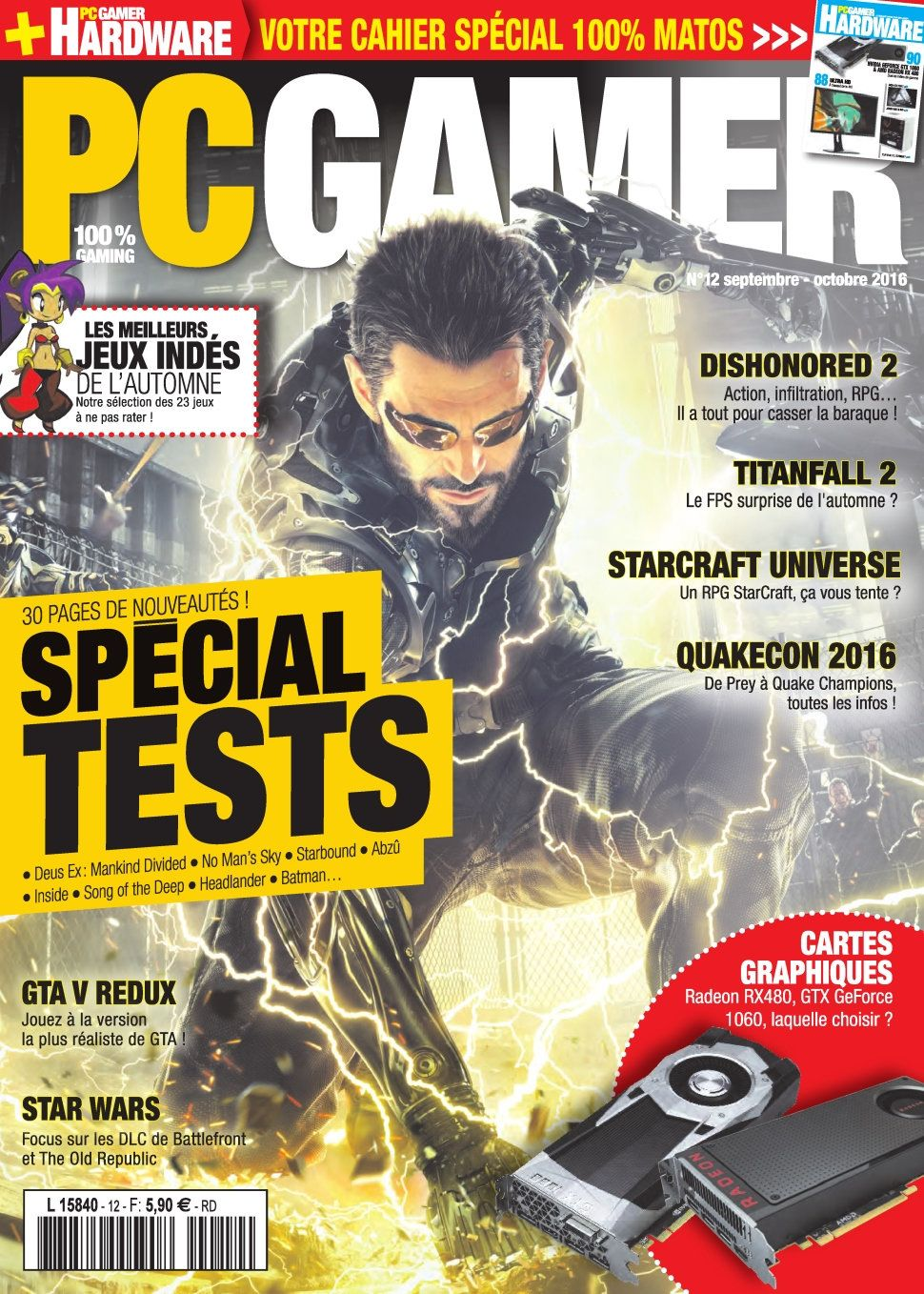 PC Gamer 12 - Septembre/Octobre 2016