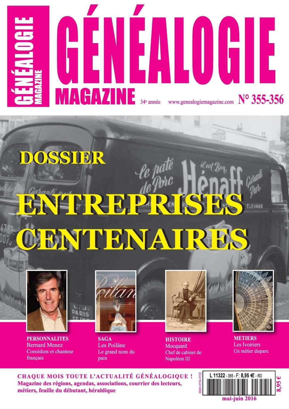Généalogie Hors-Série 35-5356 - Juin 2016