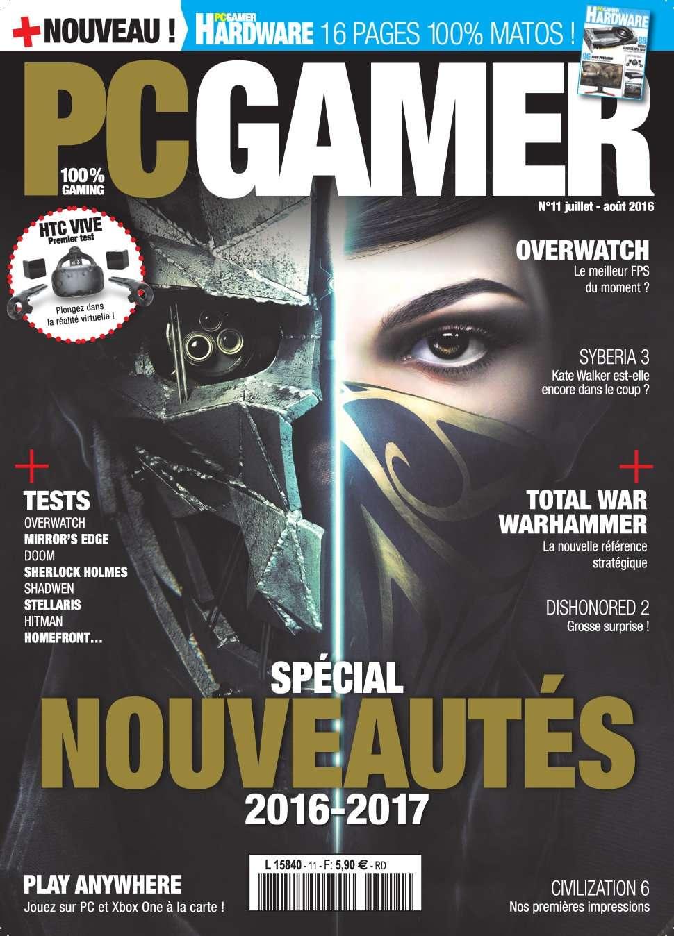 PC Gamer 11 - Juillet/Aout 2016
