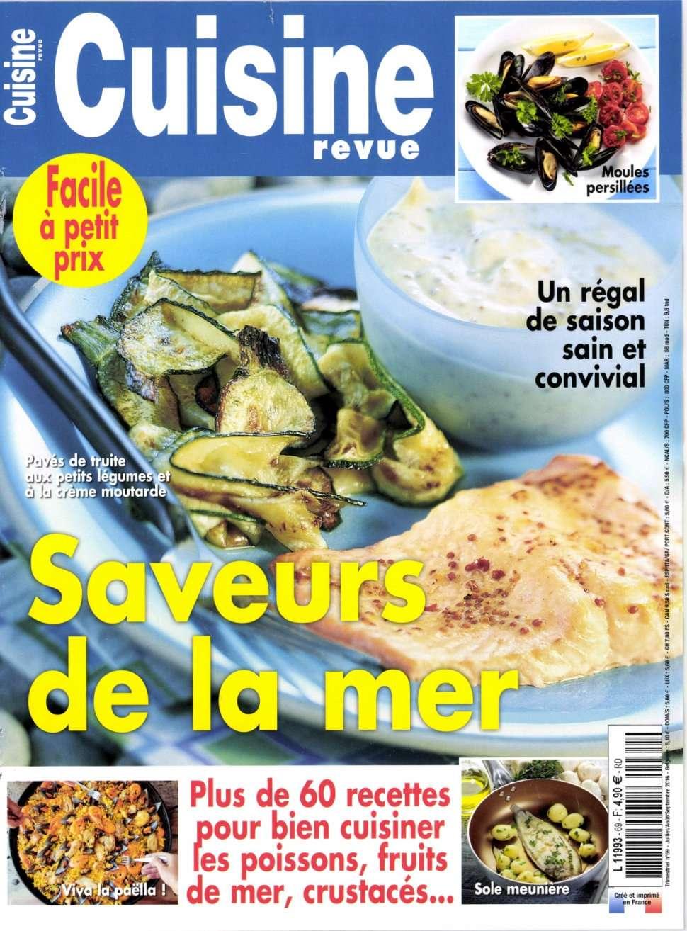 Cuisine Revue 69 - Juillet/Septembre 2016